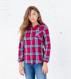 CAMISA CUADROS - Camisas