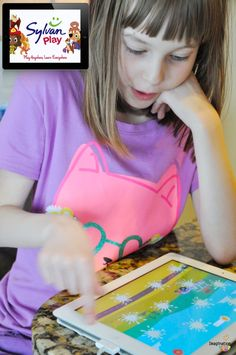 My kids love these FREE SylvanPlay learning apps - espeically the word game, Sushi Scramble. #spon #iphone #ipad #iOS #kids #Apps #learning #freeapp #freeapps