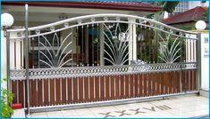 steel gates | STAINLESS STEEL MAIN GATE WITH ALUMINIUM