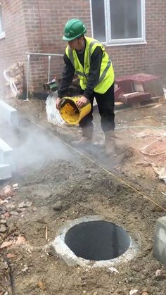 'We told the apprentice to collect the dust'