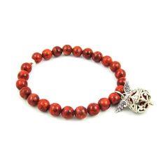 Engelrufer Korallen Armband von samaki originals www.samakishop.com  #engelrufer #mallorcaschmuck #koralle #engelruferarmband #samaki