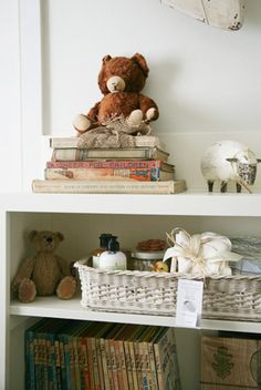 white vintage neutral nursery