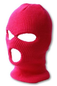 "Neon Colored Balaclava: Worn by Russians in the ""Pussy Riot."" These face masks were first worn by the British Troops in the Battle of Balaclava-Crimean War to protect their faces from the cold."