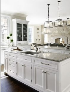 Design + Very Little DIY: White Kitchens | Always Carry a Cardigan