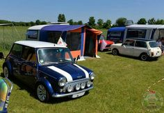 Tuck In Time Miniacs & we close on a beautiful Rover Cooper n Caravan combo that looks set up with a couple of Mini Mates too, perfect!  Goodnight folks