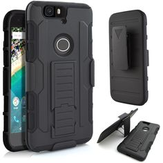 For Huawei Nexus 6P Case 3 in 1 Hard Armor Belt Clip Silicone Stand Cover Case For Huawei P8 Lite P9 Lite P9 6P 5X Phone Cases #clothing,#shoes,#jewelry,#women,#men,#hats,#watches,#belts,#fashion,#style