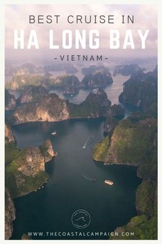 Wondering which is the best Bai Tu Long Bay cruise to take? Discover the most breathtaking scenery in Vietnam and avoid the crowds of Ha Long Bay! Vietnam Travel Guide, Asia Travel, Solo Travel, Bai Tu Long Bay, Ha Long Bay, Asia Cruise, Best Cruise, Travel Guides, Travel Tips