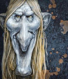 """Fernando Falcone: Ilustraciones de """"El gran libro de las brujas"""" - Parramón 2009 - Técnica: Lápices y digital"""