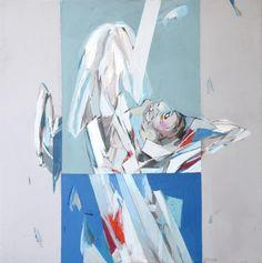 São Mamede - Galeria de Arte Rocha de Sousa O medo desnorteado da noiva 2004 Acrilico x Tela 80 cm x80 cm