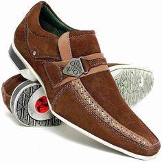 8fabe9a70a Sapato Masculino Social Bico Longo Luxo Stilo Italiano Couro - R  149