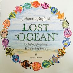 Johanna Basford | Colouring Gallery Staedtler fine liners and Colored pencils