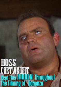 Hoss Cartwright Tells The Incredible Secret He Kept While Filming 'Bonanza'