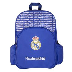Real Madrid Compartment Backpack, Multicolor