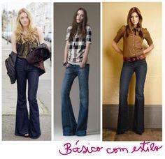Blogosfera Fashion: calça flare Jeans. « Moda e Beleza