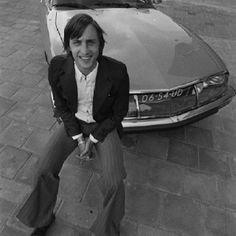 Johan Cruijff and his Citroën with a Maserati engine.