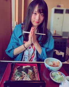 今日は  お昼になめこおろし蕎麦を食べたよー(). .  お蕎麦大好き. . #お昼ご飯. #なめこおろし蕎麦.... #Team8 #AKB48 #Instagram #InstaUpdate