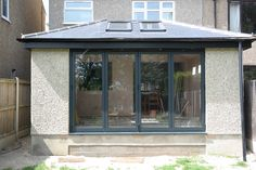 Bi-Fold Doors or bi-folding doors are becoming an essential requirement for modern extensions. Property Rejuvenation is happy to fit these where suitable. Glass Roof Extension, House Extension Design, Extension Ideas, Rear Extension, Patio Design, Exterior Design, Interior And Exterior, Garden Room Extensions, House Extensions