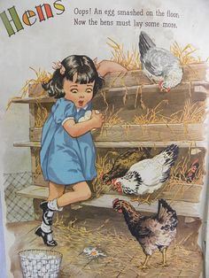 Hens, illustrated cover