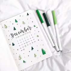 21 Christmas Bullet Journal Ideas For December - Its Claudia G - December Minimalist Bullet Journal Calendar. If you need bullet journal ideas for December, you sho - Bullet Journal Christmas, December Bullet Journal, Bullet Journal Monthly Spread, Bullet Journal Cover Page, Bullet Journal Notebook, Bullet Journal Themes, Bullet Journal Inspiration, Bullet Journal 2019 Calendar, Bullet Journal Months
