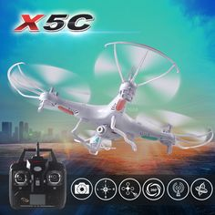 Free shipping 2.4G 4CH 6-Axis Original Syma X5C quadcopter RC helicopter drone with 2MP HD FPV camera RC toy VS x101 x5sw x5sc. Model: Professional Brand: SYMA Model: X5C Select Color: White Channel Number: 4CH Gyro: 6 axis Radio System: 2.4G Camera Can Be installed :Yes IOS & Android System Control: No Camera, best offer