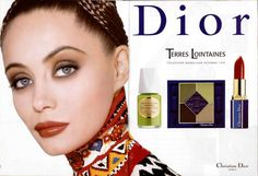 Emmanuelle Béart | Photography by Tyen | For Dior Campaign | Fall 1997 ☆<3