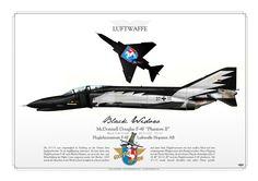 """GERMAN AIR FORCE . LUFTWAFFE Fluglehrzentrum F-4F Hopsten Air Base """"Phlyout 2005"""""""