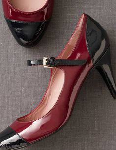 Contrast Mary Janes Shoes at Boden