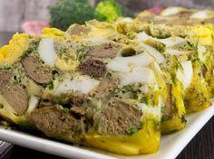 Drob de pui cu ouă – atât de gustos, încât nu va rămâne nici o fărâmitură de drob în farfurie! Easter Recipes, Meatloaf, Mashed Potatoes, Turkey, Ethnic Recipes, Food, Meal, Recipes, Romanian Food