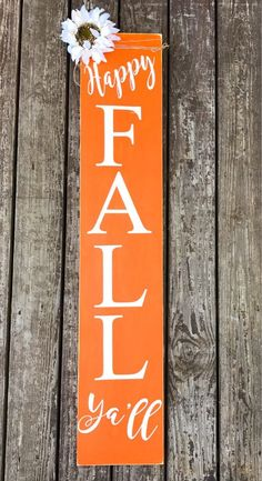 Your place to buy and sell all things handmade Wooden Welcome Signs, Porch Welcome Sign, Wooden Signs, Wooden Boards, Fall Wood Signs, Fall Signs, Fall Crafts, Holiday Crafts, Thanksgiving Crafts
