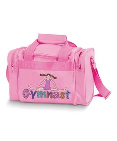 3b80b0e187 Pink  Gymnast  Duffel Bag Duffel Bags