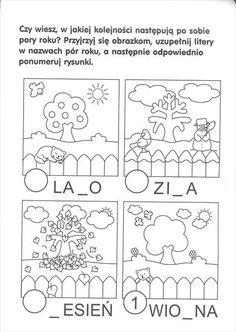 Preschool Weather, Polish Language, Seasons Activities, Language School, Thing 1, Easy Drawings, Crafts For Kids, Bullet Journal, Education