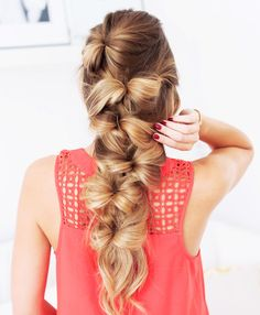 The Bow Braid without flowers