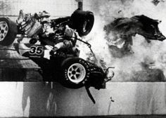 Gordon Smiley Fatal Indy 500 Crash Indianapolis 1982 Picture