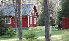 Natuurhuisje in Lenhovda, typisch Zweeds rood huisje in Zuid-Zweden