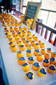 Blue and orange wedding place cards Wedding Centerpieces, Wedding Favors, Wedding Reception, Our Wedding, Wedding Decorations, Wedding 2017, Wedding Stuff, Wedding Event Planner, Wedding Themes