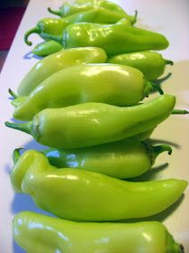 The Virtuous Wife: Banana Pepper Rings (Canning) Tutorial