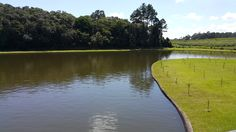 Vista do lago da sede campestre do Clube Santa Rita, Farroupilha RS BR By @luccks (Galaxy Note4 full res)