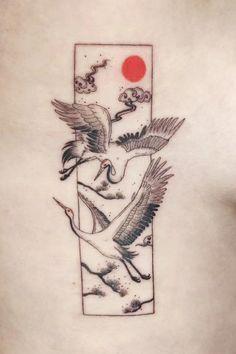 Calf Tattoos, Vine Tattoos, Asian Tattoos, Black Ink Tattoos, Fine Line Tattoos, Tattoo Design Drawings, Tattoo Sleeve Designs, Sleeve Tattoos, Cute Small Tattoos