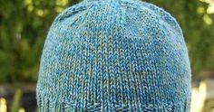 Jeg liker best å strikke mine egne luer - da får jeg dem i de fasongene jeg liker best, og i de materialene jeg liker. For å holde ørene... Knitted Hats, Knitting, Fashion, Moda, Tricot, La Mode, Knit Caps, Breien, Fasion