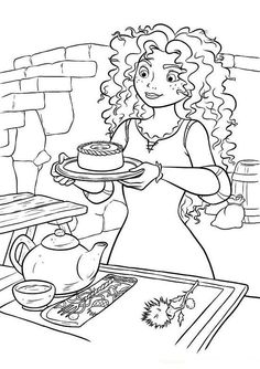 Brave Coloring Page 42