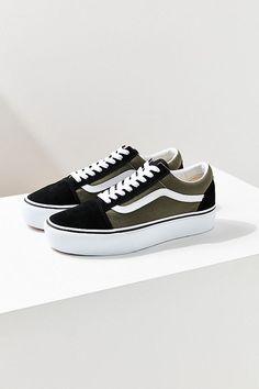 fc73e7ee01c4 Slide View  1  Vans Old Skool Platform Sneaker Vans Schwarz