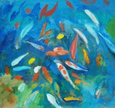 Fish painting.
