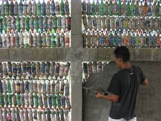 Schools built with plastic bottles. Schools built with plastic bottles. for more info and pics.