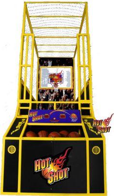 Basketball Arcade Games - Indoor Basketball Games For Sale - Page 2 Arcade Game Room, Arcade Game Machines, Arcade Machine, Arcade Games, Arcade Basketball, Indoor Basketball Hoop, Basketball Games For Kids, Basketball Shoes, Theatre Games