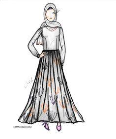 "5b4322e50d849 Emma Hijab blogger on Instagram  "". . .  themodestymovement  hijabapp   modestroute  chichijab  modest  muslimahchamber  ستايلات  تصميماتي   modesty ..."