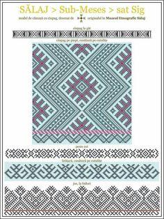 Folk Embroidery, Cross Stitch Embroidery, Embroidery Patterns, Cross Stitch Patterns, Fantasy Concept Art, Folk Fashion, Traditional Art, Blue Bird, Romania