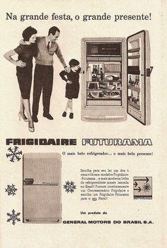 Refrigerado Frigidaire - Anos 50