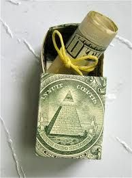 Money Gift Box Tutorial: Oh, if only I would be ambitious enough to do this........
