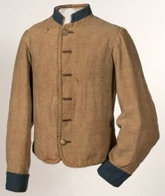 Columbus Depot Jacket worn by Pvt. David Fenimore Cooper Weller, Company C, 2nd Kentucky Infantry Regiment-The Orphan Brigade.