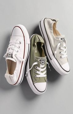 Can never have too many pairs of Converse sneakers! They are classics.